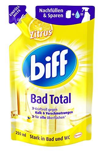 Biff Bad Total Zitrus Nachfüllpack, 250 ml