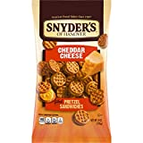 Snyder's of Hanover Filled Pretzel Sandwiches, Cheddar Cheese or Pizza Flavored- Four 8 oz. Bags (Cheddar Cheese)