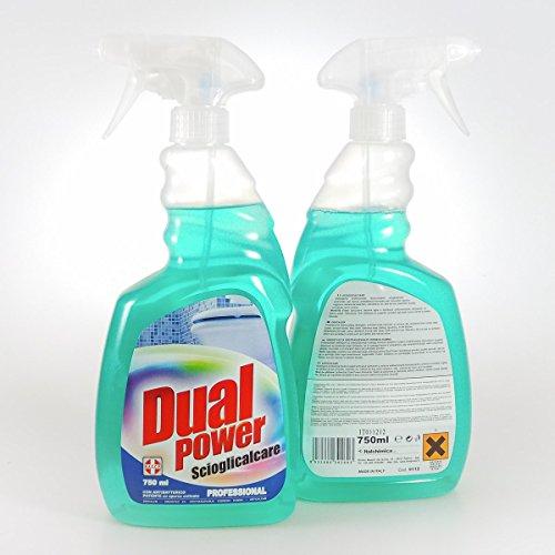 DUAL POWER Spray 750 Scioglicalcare Detergenti Casa