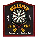 Best Dart Board Cabinets - RAM Gameroom Products Wooden Dartboard Cabinet, Bullseye Darts Review