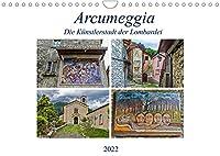 Arcumeggia - Die Kuenstlerstadt der Lombardei (Wandkalender 2022 DIN A4 quer): Arcumeggia - Freskenmalerei unter freiem Himmel (Monatskalender, 14 Seiten )