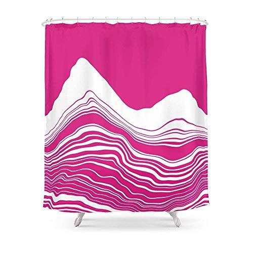 Suminla-Home Bathroom UNGUENTUM Shower Curtain 72