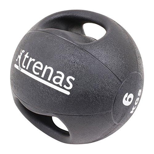 trenas Pro Balón Medicinal con Asas – 6 kg