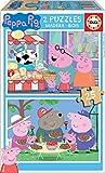 Educa Peppa Pig 2 Puzzles de 25 Piezas, multicolor (18078)