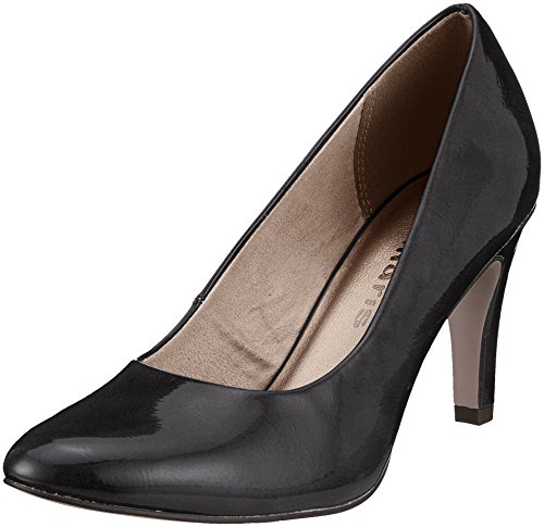 Tamaris Damen 22479 Pumps, Schwarz (Black Patent), 40 EU