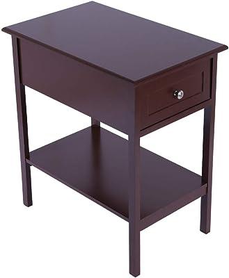 Sensational Amazon Com Winsome Wood Claire Accent Table Walnut Creativecarmelina Interior Chair Design Creativecarmelinacom
