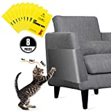 One Sight Protector de Muebles Sofa Gatos, 8 PCS Rascador para Gatos Transparente...