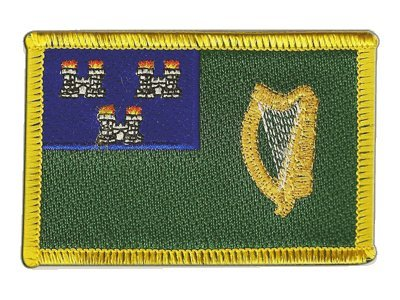 Aufnäher Patch Flagge Irland Dublin - 8 x 6 cm