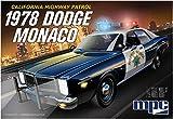 MPC 1978 Dodge Monaco CHP Police Car 2T 1/25 Scale Model Kit