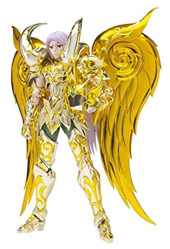 Bandai - 2302744 - Saint Seiya - Soul Of Gold - Aries Mu God - 18 cm - Jaune
