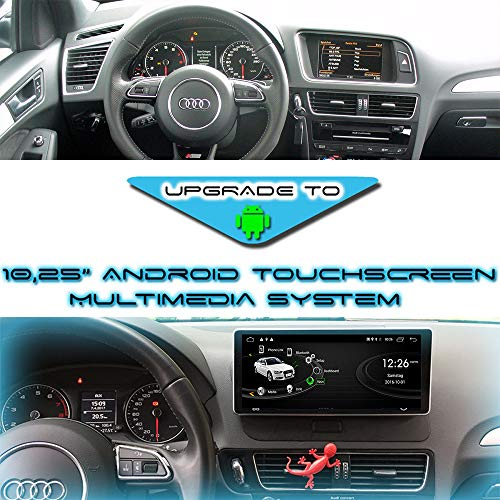 "10,25\"" Android 10 Touchscreen 3D GPS Navi Bluetooth USB für Audi Q5 8R MMI 3G"