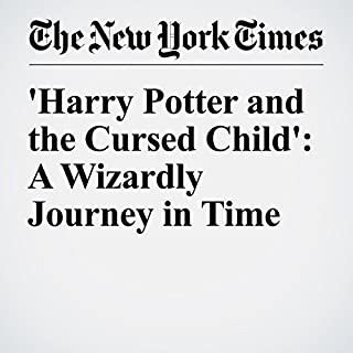 'Harry Potter and the Cursed Child': A Wizardly Journey in Time audiobook cover art