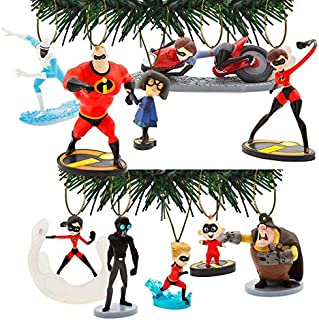 Characteristix Disney Pixar's Incredibles 2 Deluxe Ornament Set of 10