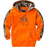 Legendary Whitetails Youth Outfitter Hoodie Inferno Medium