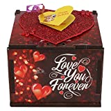 Wenzel Love You Forever Birthday Wooden Box Greeting Card