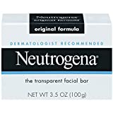 Neutrogena Transparent Scented Facial Soap, Original Formula Soap - 3.5 Oz ( Pack of 8 )