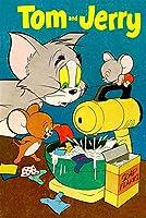 面白い 木製のパズルジグソーパズル漫画アニメアダルトチルドレンの減圧パズル猫とネズミ300/500/1000/1500パズル子供の教育幼児玩具漫画アニメーション 拼图 (Color : L, Size : 1500pcs)