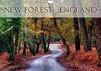 New Forest - England (Wandkalender 2022 DIN A4 quer): Der New Forest gilt als eine der schoensten Regionen in England (Monatskalender, 14 Seiten )