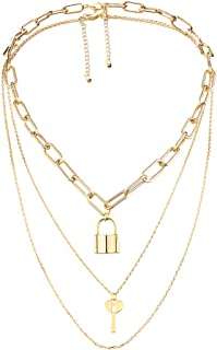 Best key and lock pendant necklace Reviews
