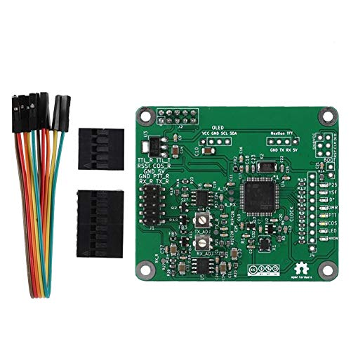 Trunk Board Repeater Mmdvm DMR Replacement Accessories Electrical Multipurpose Open Source Plate Voice Modem Multi Mode Module PCB Digital Green for Raspberry Pi