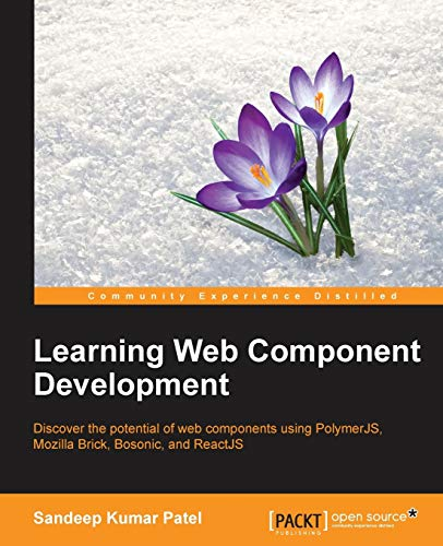 [画像:Learning Web Component Development]