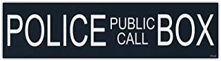 Giant Size! - Police Public Call Box Tardis Sticker Decal | Dr. Doctor Who British TV Show - 15
