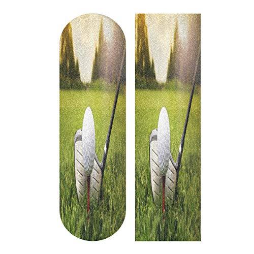 MNSRUU rutschfestes Skateboard-Griffband für Golfschläger und Bälle im Gras, 22,9 x 83,8 cm