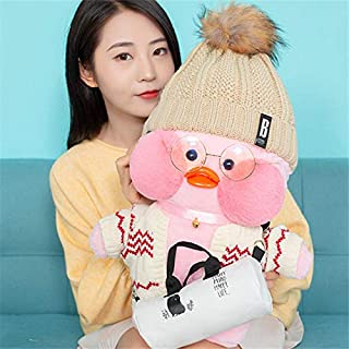 Korean World 48Cm Big Lalafanfan Plush Stuffed Toys I Cafe Mimi Yellow Duck Plush Toys Decoration Toys for Girls Must Have Baby Items 21St Birthday Gifts Toddler Favourite