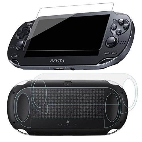 SNNC PlayStation Vita 1000 Screen Protector Anti-Scratch Tempered Glass Film Shield for PSVita1000