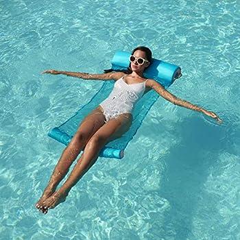 SwimWays Yogo Float - Aqua/Coral