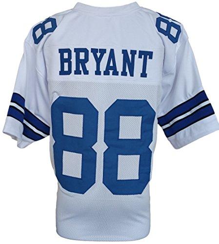 Dez Bryant UnAutographed Signed Custom White Pro-Style Football Jersey Large