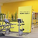 Home Gym Decor Exercise Wall Mural