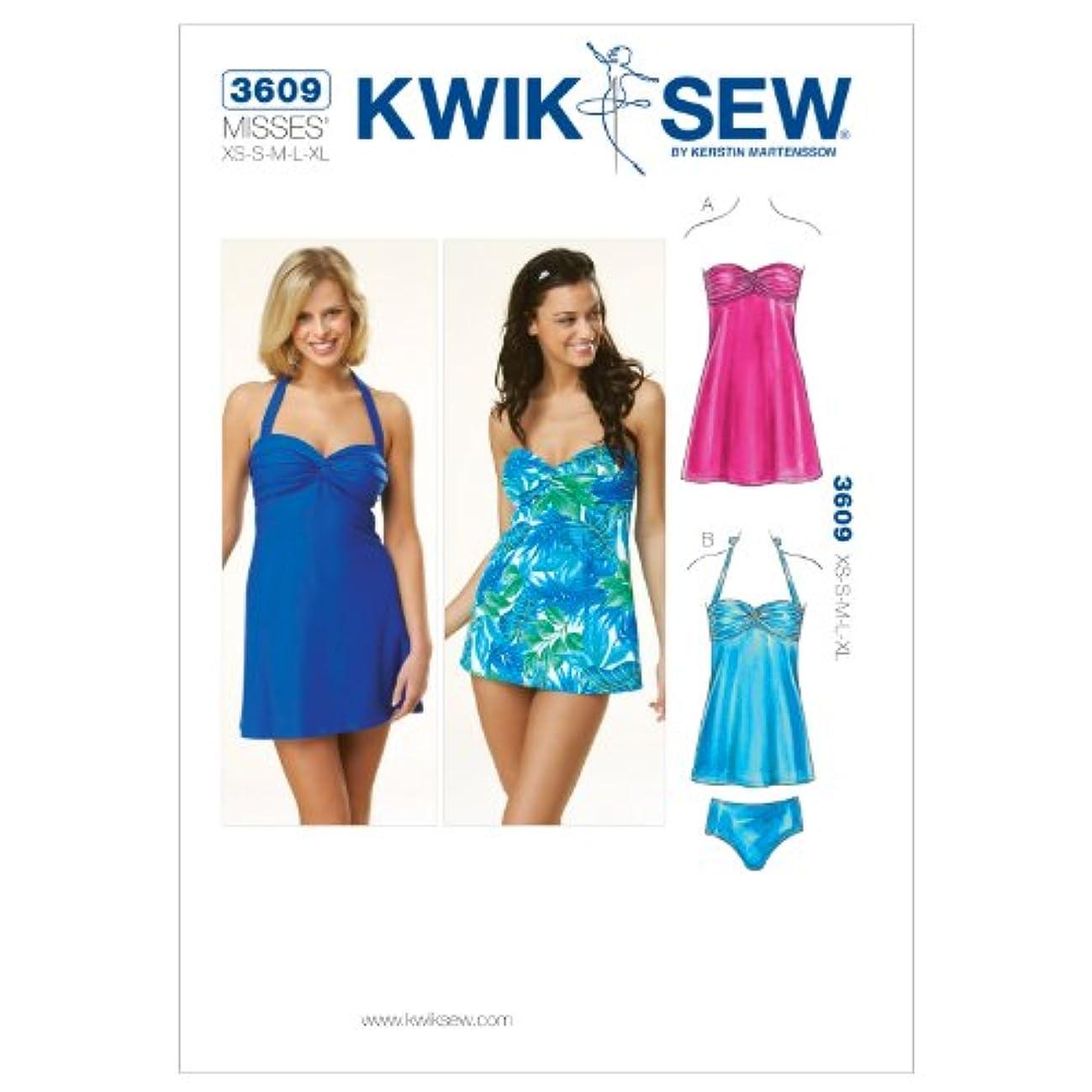 Kwik Sew K3609 Swimwear and Dress Sewing Pattern, Size XS-S-M-L-XL