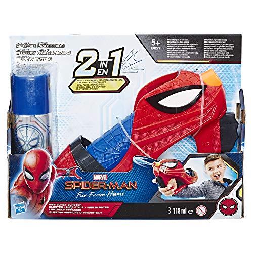 Spider-Man- Movie Web Burst Blaster, Multicolor (Hasbro E6277E27)
