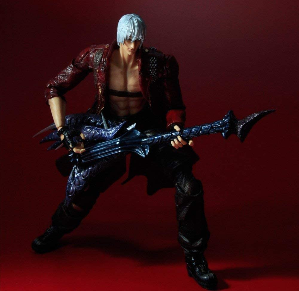 Play Arts Kai DEVIL MAY CRY 3 Dante Action Figure Collection mobile nouveau modèle