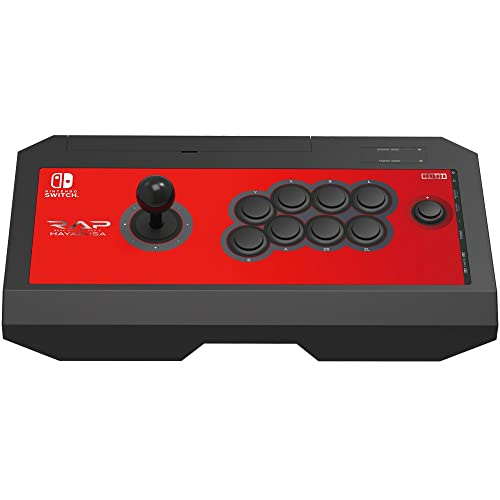 HORI Nintendo Switch Real Arcade Pro V Hayabusa Fight Stick Officially Licensed by Nintendo - Nintendo