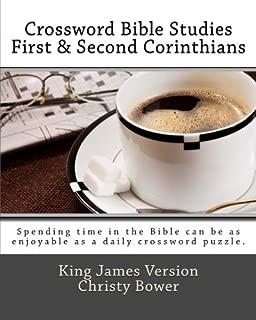 Crossword Bible Studies - First & Second Corinthians: King James Version
