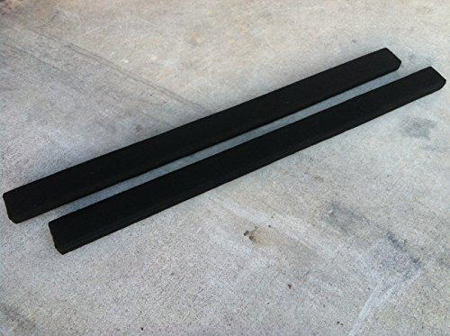 8' Long Marine Carpet Black Bunk Boards