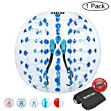 Inflatable Bumper Balls for Adults/Kids, Bubble Soccer Ball 5 FT(1.5M), Human Hamster Ball, Body Bumper Balls(Old Version)