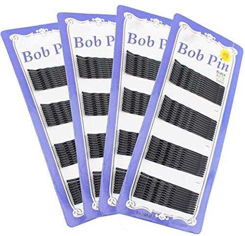 Girls Damen 240 hairgrips Triple Wave schwarz Haarspangen Clips Bobby Pins Klemmen Großhandel von Set für Salon Make Up und Beauty