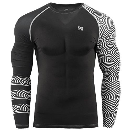 zipravs MMA Kompressions-Shirt, langärmelig - ZCDS-123 - XXL