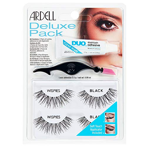 Ardell Deluxe Pack Wispies with Applicator, #68947, 0.07 Pound