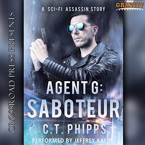 Agent G: Saboteur audiobook cover art