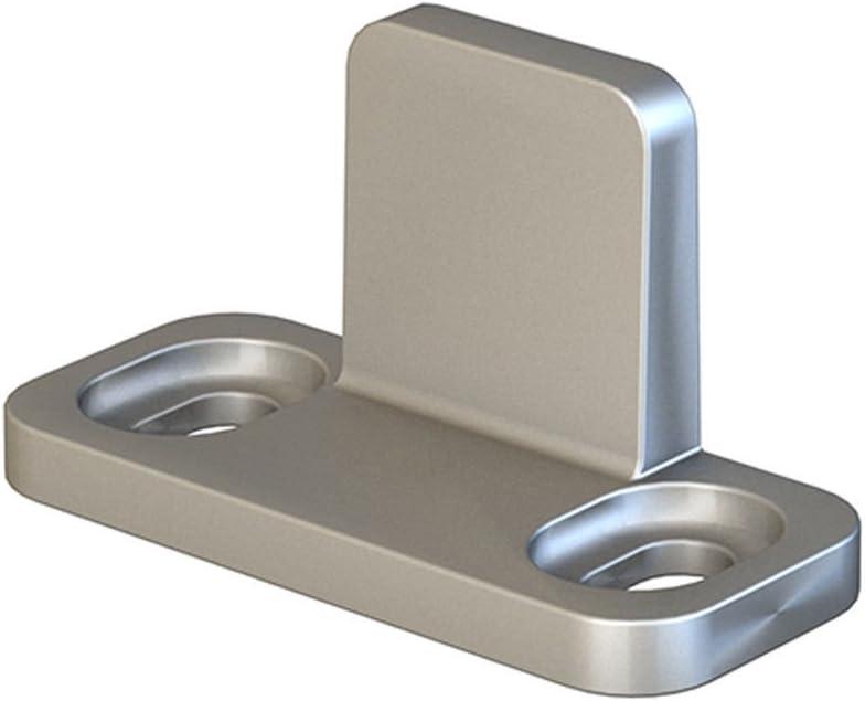 JUBEST Silver L-Guide for Sliding Barn Hardware Aluminum Door Re Kansas City Max 44% OFF Mall