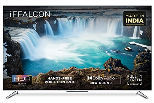 iFFALCON 139 cm (55 inches) 4K Ultra HD Smart Certified Android LED TV 55K71 (Sliver) (2021 Model)|...