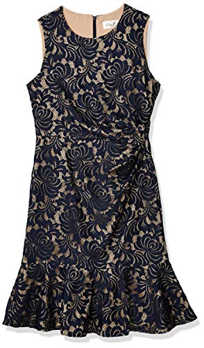 Eliza J womens Sleeveless Dress Peplum Hem sleeveless Dress - Blue -
