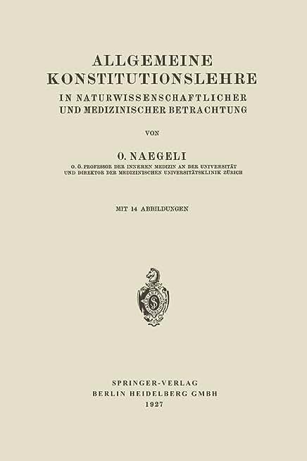 Allgemeine Konstitutionslehre