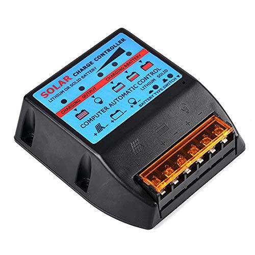 KKmoon Regolatore di Carica Solare Plug and Play Controller di Carica Pannello Fotovoltaico Resistente
