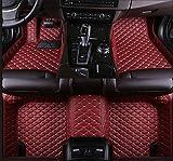 N/A Alfombrillas personalizadas para Mazda CX-5 CX-7 CX-9 Cx3 6 GH 6 GG 323 626 Demio alfombrillas para coche rojo vino