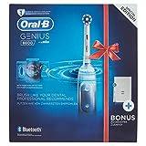 Genius, il miglior spazzolino da denti Oral-B, il marchio più raccomandato dai dentisti nel mondo. Elimina fino al 100% in più di placca: la testina arrotondata pulisce meglio per gengive più sane. 100% copertura dello spazzolino: l'unico spazzolino ...